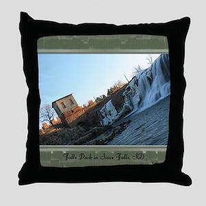 FallsPark9 Throw Pillow