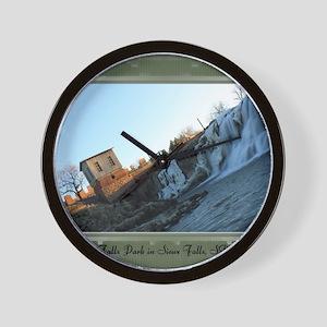 FallsPark9 Wall Clock