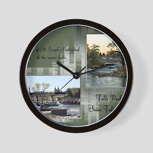 Falls Park 13 Wall Clock