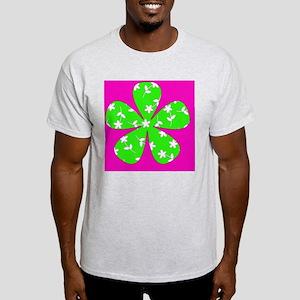 Pink Green Floral St. Patricks Day D Light T-Shirt