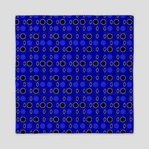 Blue Black Comeback Designer Queen Duvet