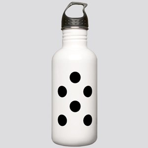 Black White Chauncys P Stainless Water Bottle 1.0L