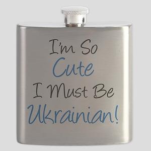 Im So Cute Ukrainian Flask