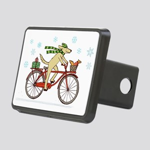 dogsquirrelholidayCP Rectangular Hitch Cover