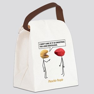 Christmas Pistachios Canvas Lunch Bag