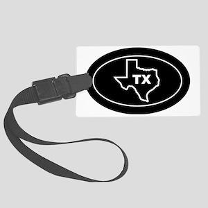 TX - Texas Large Luggage Tag