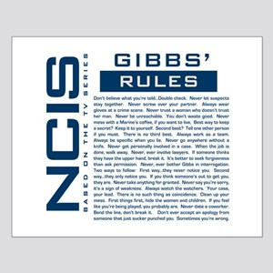 NCIS Gibbs Rules Posters