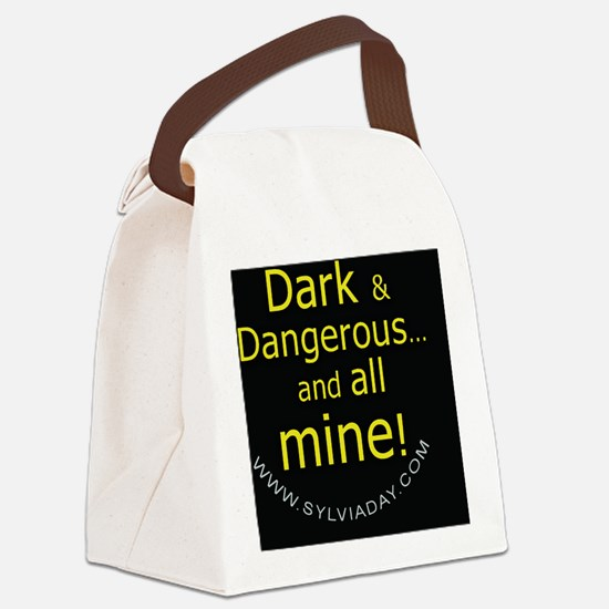 Dark and Dangerous Canvas Lunch Bag
