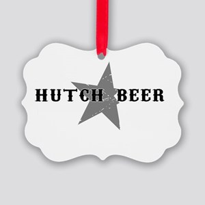 Hutch Beer Reverse Picture Ornament