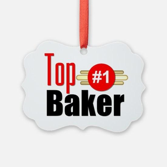 Top Baker Ornament