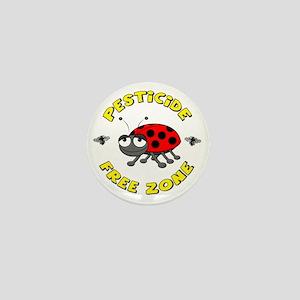 Pesticide Free Zone Mini Button