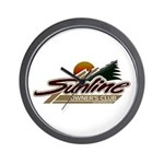 Sunline Owner's Club Wall Clock