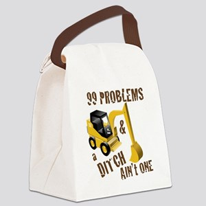 99 Problems Canvas Lunch Bag