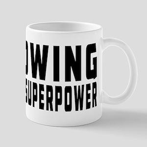 Rowing Is My Superpower Mug
