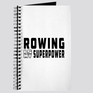 Rowing Is My Superpower Journal