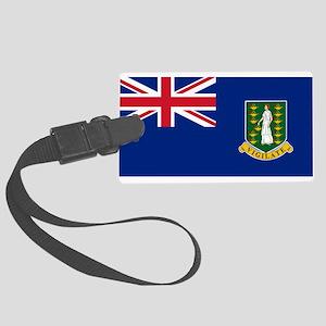 British Virgin Islands Luggage Tag