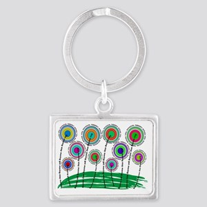 PT FLOWERS FINISHED Landscape Keychain