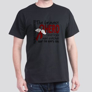 D Multiple Myeloma Bravest Hero I Eve Dark T-Shirt