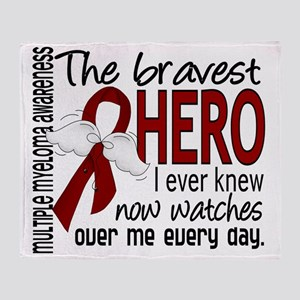 D Multiple Myeloma Bravest Hero I Ev Throw Blanket
