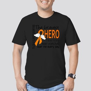 D Multiple Sclerosis B Men's Fitted T-Shirt (dark)
