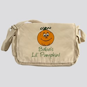 Baba Little Pumpkin Messenger Bag