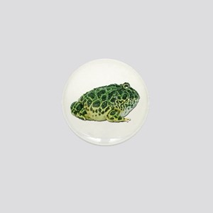 Pacman Frog Photo Mini Button