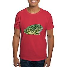 Pacman Frog Photo Dark T-Shirt