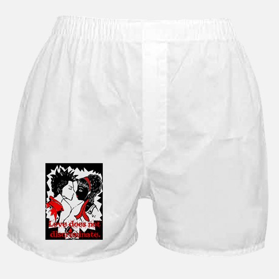 Love does not discriminate Boxer Shorts