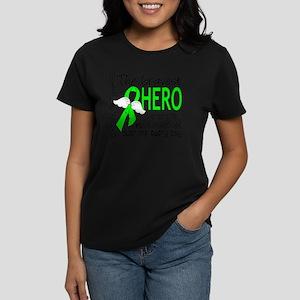D Non-Hodgkins Lymphoma Brave Women's Dark T-Shirt