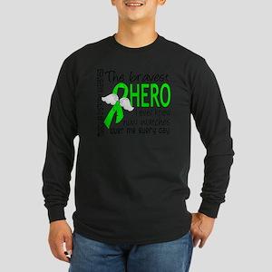 D Muscular Dystrophy Brav Long Sleeve Dark T-Shirt