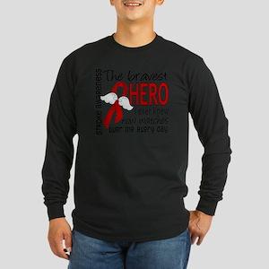 D Stroke Bravest Hero I E Long Sleeve Dark T-Shirt