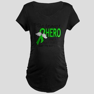 D Muscular Dystrophy Braves Maternity Dark T-Shirt