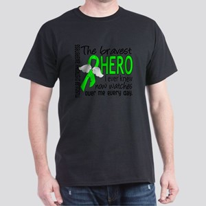 D Muscular Dystrophy Bravest Hero I E Dark T-Shirt