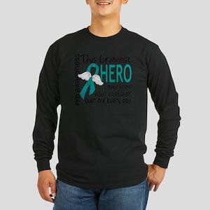 D PKD Bravest Hero I Ever Long Sleeve Dark T-Shirt