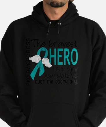 D PKD Bravest Hero I Ever Knew Hoodie (dark)
