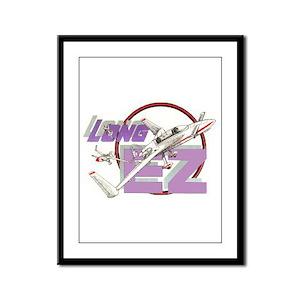 LONG EZ Framed Panel Print