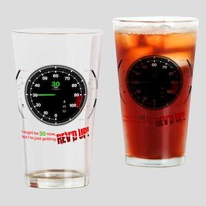 speedometer-30 Drinking Glass