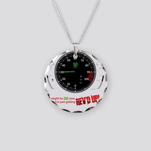 speedometer-30 Necklace Circle Charm