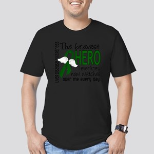 D Liver Disease Braves Men's Fitted T-Shirt (dark)