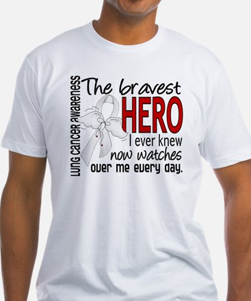 D Lung Cancer Bravest Hero I Ever K Shirt