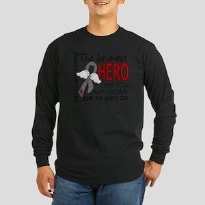 D Juvenile Diabetes Brave Long Sleeve Dark T-Shirt