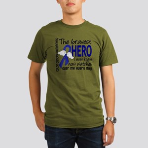 D Colon Cancer Braves Organic Men's T-Shirt (dark)