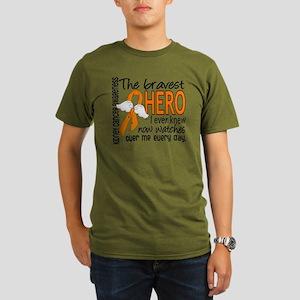 D Kidney Cancer Brave Organic Men's T-Shirt (dark)