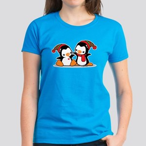 Cute Penguins (9) Women's Dark T-Shirt