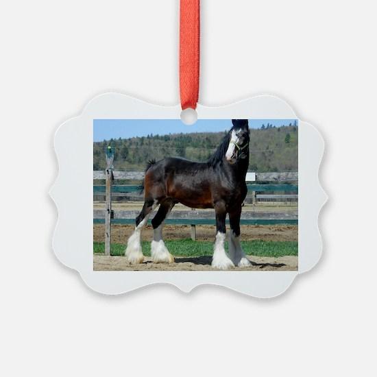 Ruskington Danny, English Shire S Ornament