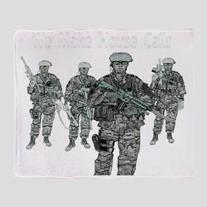 Door Kickers Throw Blanket