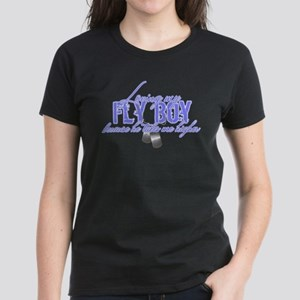 Loving My Fly Boy Women's Dark T-Shirt