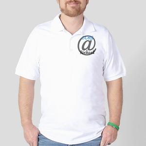 Logo Blue Golf Shirt