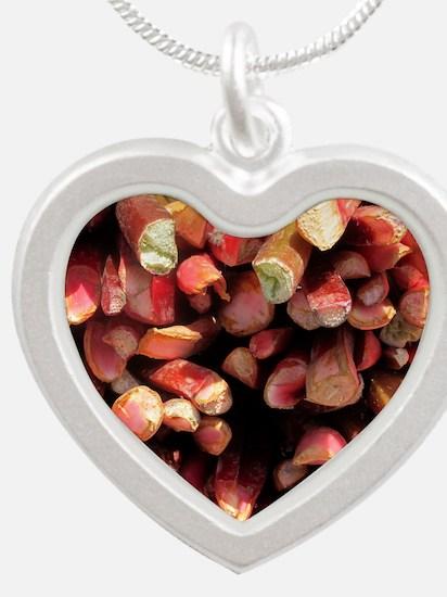 rhumouse Silver Heart Necklace