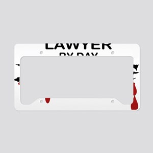 Lawyer Zombie License Plate Holder